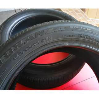 2pcs Tubeless Turanza 185 55 R16