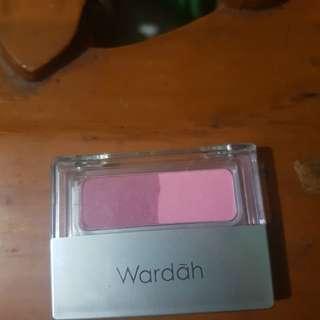 Wardah blush on seri B