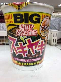 壽喜燒cup noodles