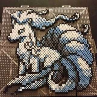 Pokemon NineTails Hama Designs