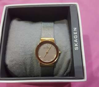 Original Skagen (358Sgscd) women watch