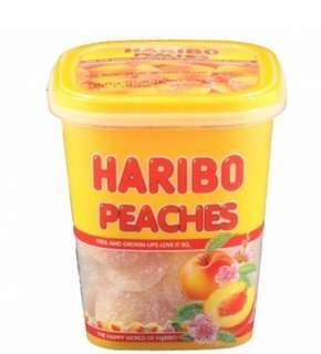 HARIBO熊仔糖桃味 175g