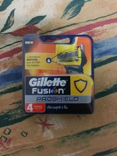 Gillette proglide shaving blade