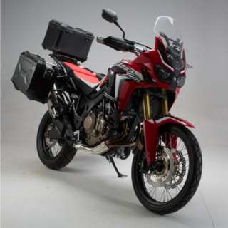 SW Motech panniers w rack for CRF1000L