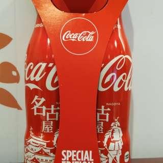 名古屋地區限定版可口可樂一套兩支