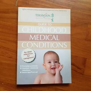 Thomson Medical (TMC) Childhood Medical Conditions (with first aid techniques)