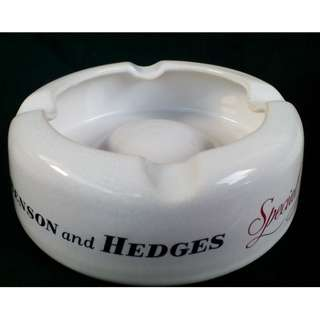 Price reduced. Vintage Porcelain Benson & Hedges Ashtrays