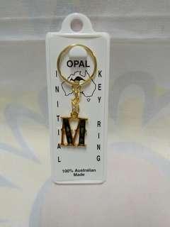 絕版全新澳洲製造 M 字造型鎖匙扣1 件