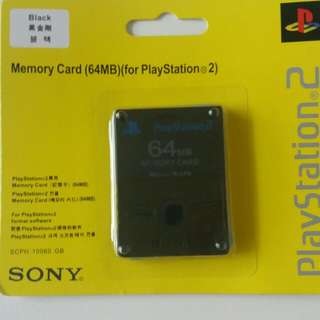 Memori Ps2 64GB Sony