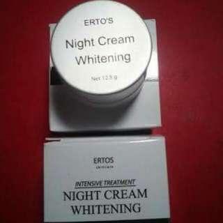 ERTOS NIGHT CREAM WHITENING