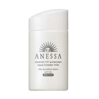 Anessa Whitening Essence Facial UV Sunscreen Aqua Booster