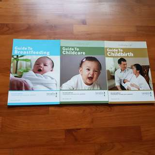 Thomson Medical (TMC) Breastfeeding, Childcare and Childbirth books