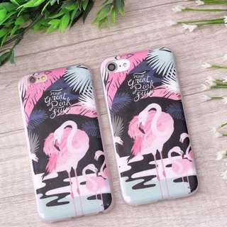 Case hp flamingo black