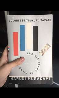 Haruki Murakami Colourless Tsukuru Tazaki And His Years Of Pilgrimage