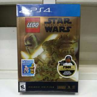 PS4 Lego Star Wars The Force Awakens Deluxe Edition Finn