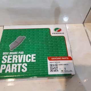 Perodua Alza brake pad (first generation)