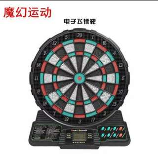 電子飛鏢靶送六支飛鏢英文版 (包Buyup自取站取貨) (優居系列) (dartboard)