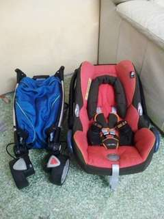 Quinny Zapp With Maxicosi Carseat