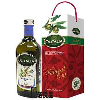 🚚 ※樂活良品※ 奧利塔義大利玄米油(1000ml)單瓶禮盒組/加碼特惠請看賣場介紹