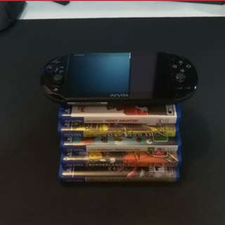 Ps Vita with 5 games ( cheapest )