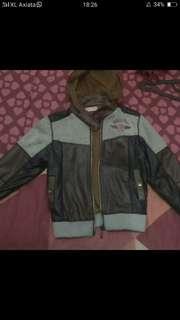 jaket kulit anak
