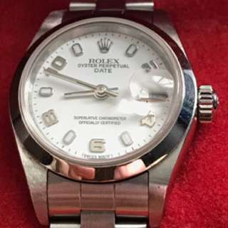Rolex perpetual oyster lady date