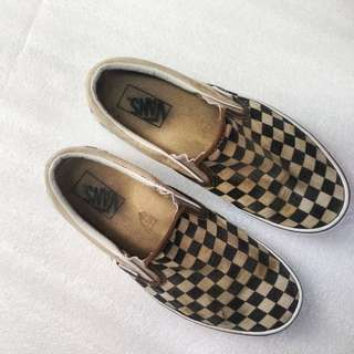 Vans Slipon Checkerboard B/w
