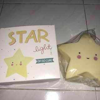 全新星星小夜燈