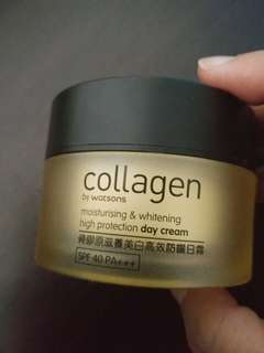 Collagen day cream with sunscreen