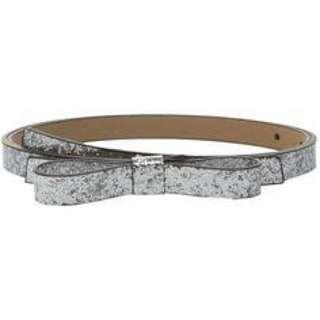 BNWT Kate Spade silver glitter belt