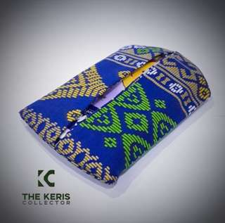 HANDMADE Printed Songket Pocket Tissue Bag Holder (By Post Only) (Payment via iBanking or PayPal Only)