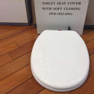 NEW Toilet Seat Cover with Soft Closing 35 x 45cm
