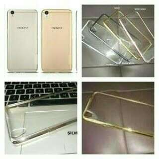 Oppo F3+ Plus Shinning Chrome Casing Warna Anticrack Cover