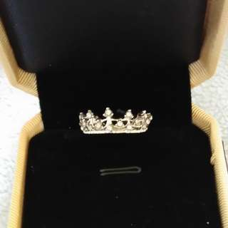 Retro Crown Ring