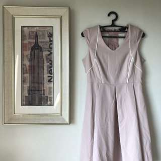 Dorothy Perkins pink cutout dress