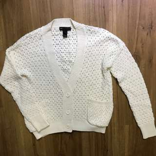 Mango Knitted Thick Cardigan Size EUR S
