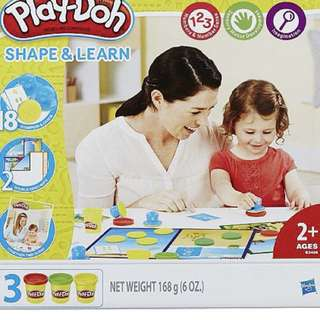 Play Doh Shape & Learn