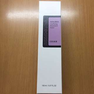 FREE MAIL! BNIB Cosrx Aha Bha Clarifying Treatment Toner 100mL