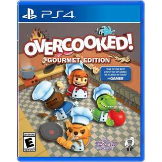 Ps4 Overcooked Gourmet Ed R2