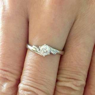 鑽石戒指💍30份(介指11.5號圈)