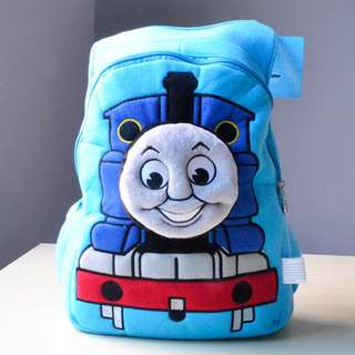 Cutie 3D Cartoon Plush Toy Backpack Outdoor Bag-Thomas