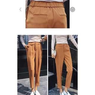 Brown work pants