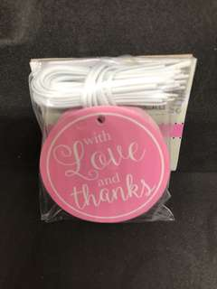 Thank you tags (25pcs)