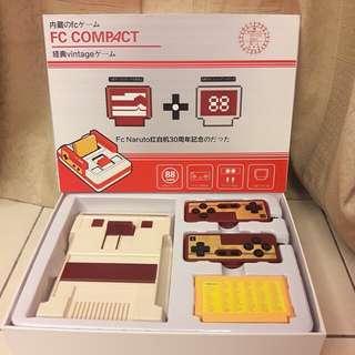 急售FC COMPACT紅白遊戲機