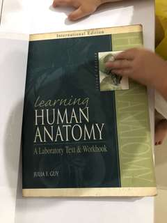 Learning human anatomy text & workbook