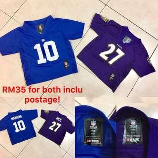 Preloved football boys shirt