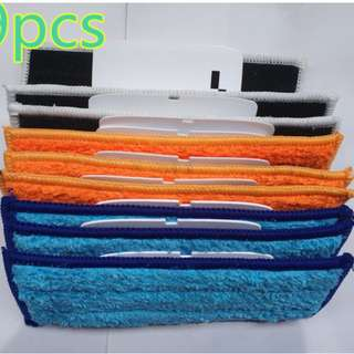 9pcs robot cleaner brushes spare parts 3* Wet Pad Mop +3* Damp Pad Mop +3* Dry Pad Mop for Replacement iRobot Braava Jet 240