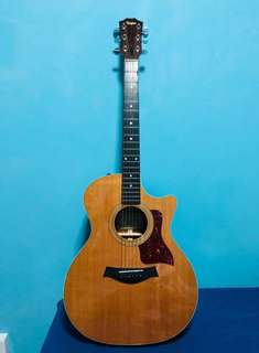 Taylor 414CE electric acoustic guitar 2006