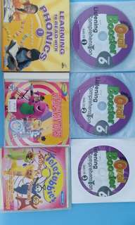 Old version educational software CD