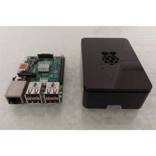 Raspberry Pi 1 Model B+ w/ official black case